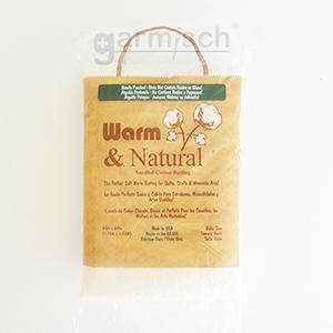 美國Warm 純棉本色-原廠包裝採完整袋裝方便展示與收納.