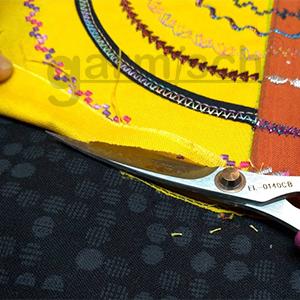 加米修X'SOR EL-0140CB 是機縫貼布緞面繡最佳用剪.|加米修有限公司