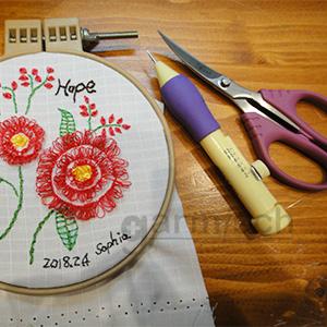 加米修 X'SOR EL-0140CB 俄羅斯刺繡時的最佳刺繡用剪選擇.