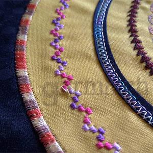 加米修 X'SOR EL-0140CB 是機縫貼布緞面繡最佳用剪.